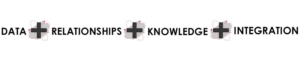 suma de datos mas relaciones mas conocimiento mas integración