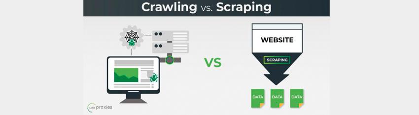 diferencia entre webcrawling y webscraping
