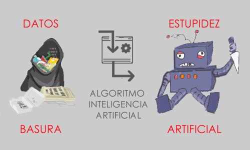 la inteligencia artificial que se basa en datos de mala calidad se convierte en estupidez artificial