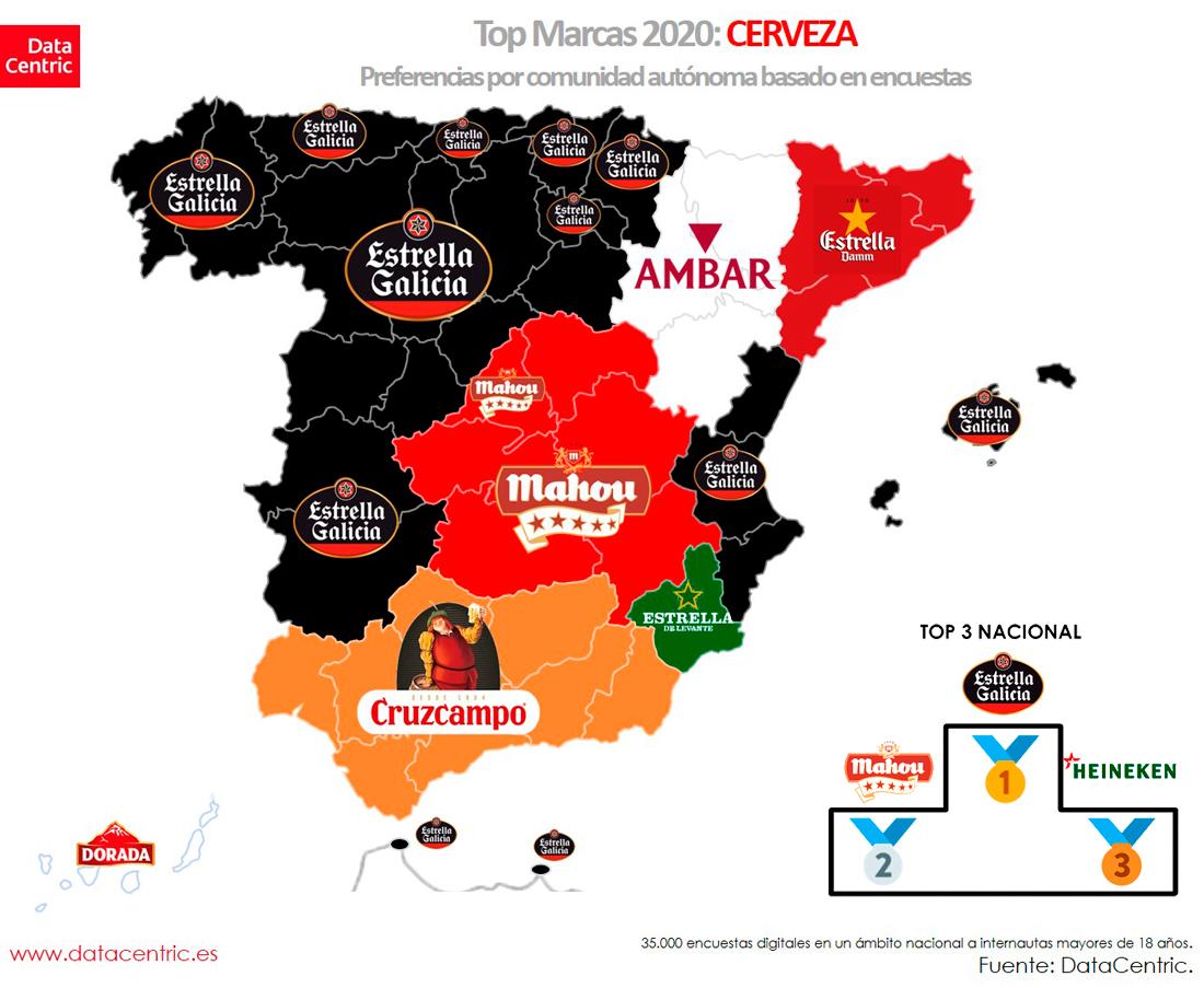 Mapa-top-marcas-CERVEZA-Espana-2020