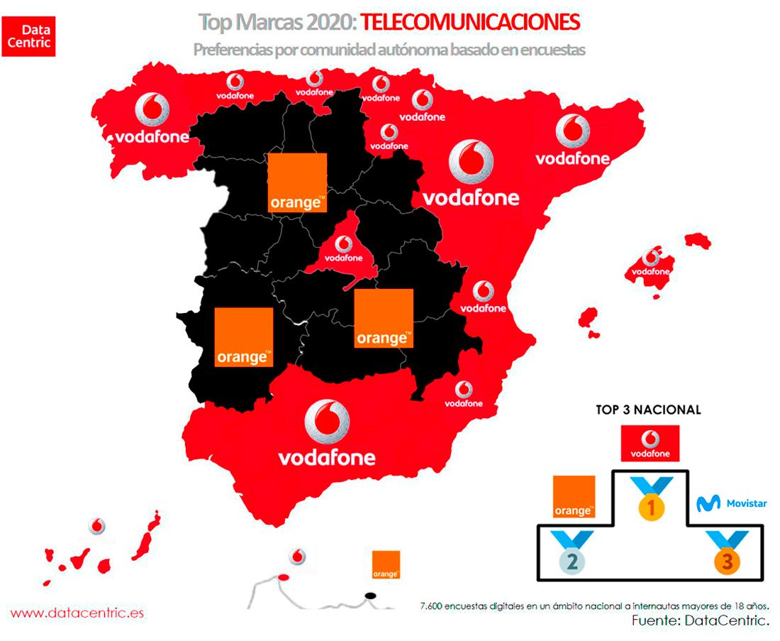 Mapa-top-marcas-TELECOMUNICACIONES-Espana-2020