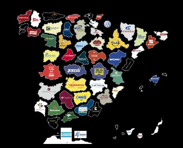 Mapa Top Empresas