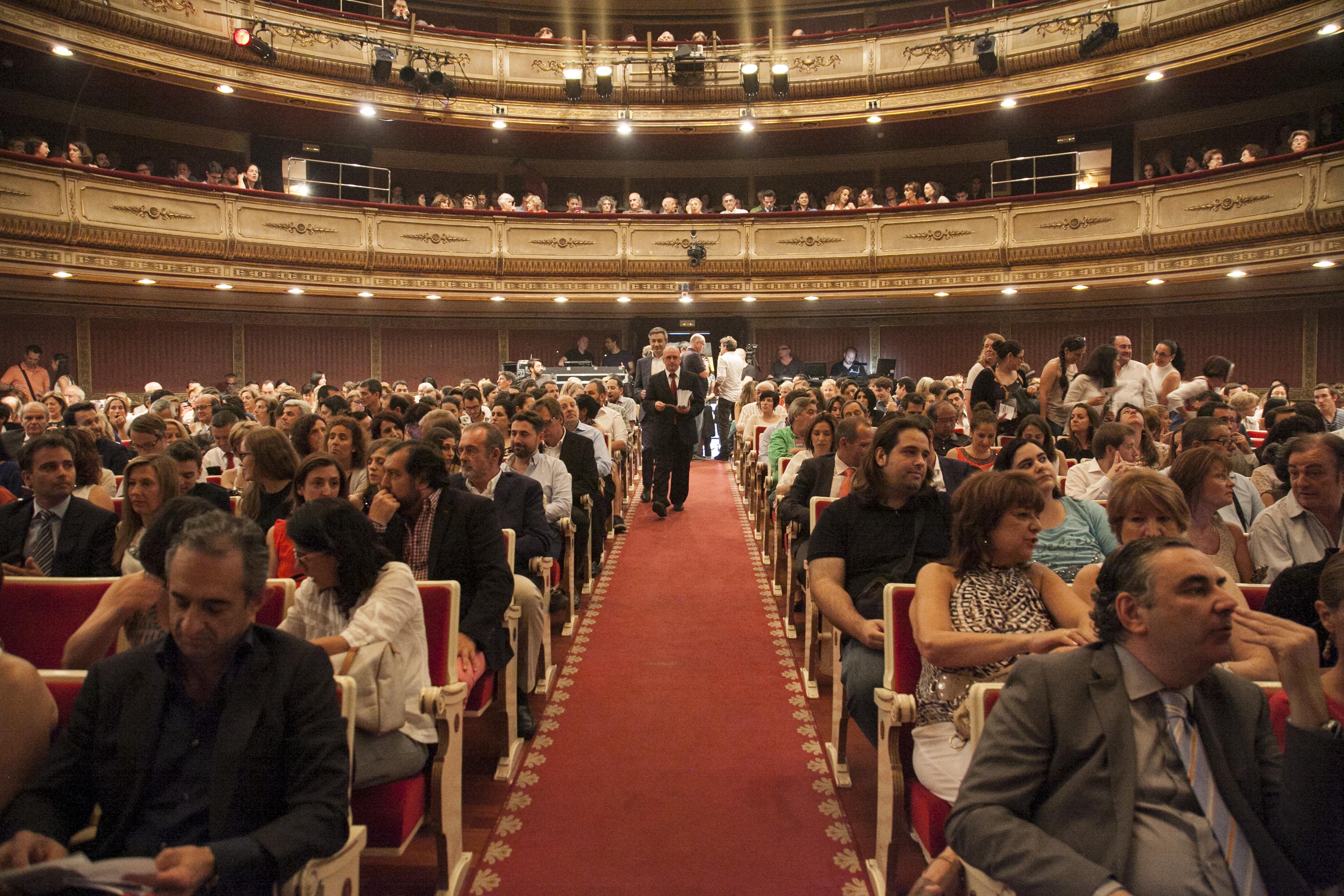 Evento DataCentric en el Teatro de la Zarzuela